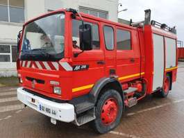 fire truck Renault M210 - 4000L tank - Complete with pump 1998