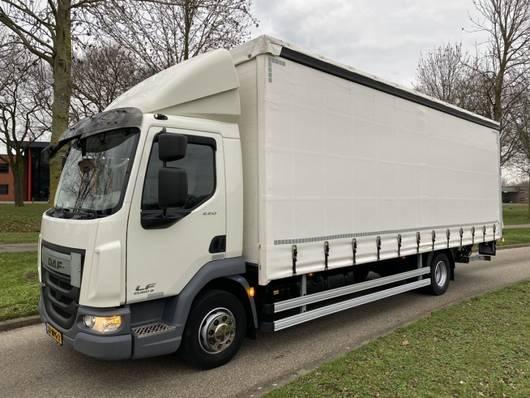 sliding curtain truck DAF LF 220 SCHUIFZEIL 117.000 KM 11-2016 2016