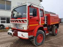 fire truck Renault M180 - 4x4 - Dubble Cabin 1997