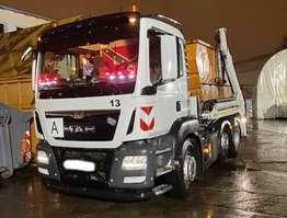грузовик со съемным кузовом MAN TGS 26.400 6x2/4 BL TGS 26.400 6x2/4 BL mit Vorlauflenk-/liftachse 2016