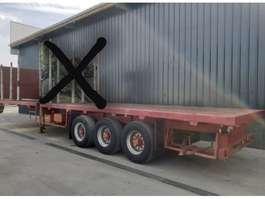 flatbed semi trailer Trailor Lâmes de ressorts / Full steel +++SUPERSUPER!!!+++ 1988