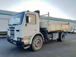 camion à benne basculante Scania 82 / 250 1986