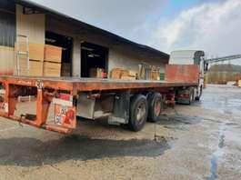 flatbed semi trailer Trailor Lâmes - Full steel 1978