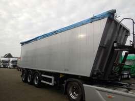 tipper semi trailer Kempf SKM 39/3 53 CM3 ALUMINIUM / STAAL 2016
