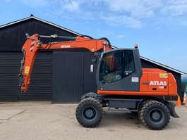 Radbagger Atlas TW 160 2012