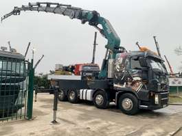 camião reboque de recuperação Volvo FH12-460 - 8x4 ZACKLIFT TOWING + CRANE (100Tm) COPMA 990.7x + JIB 4x + W... 2006