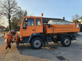 camion à benne basculante MAN 10.224 FAK 4X4 Kipper Winterdst TÜV NEU  Singleb 1998