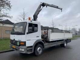 crane truck Mercedes Benz 1223 (v6) fassi f80 radio control !!! 1999