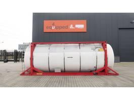 tank container Van Hool 33.966L / 2-comp (26.467L+7.499L), L4BN, IMO-4, valid 5y insp.: 01/2022 2000