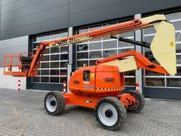 articulated boom lift wheeled JLG 600AJ 2007