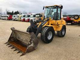 skid steer wheeled loader Volvo L 35 BZ 2010