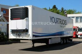 refrigerated semi trailer Schmitz Cargobull Carrier Maxima1300+Strom/Pal-kast/Trennwand/2,7h 2011