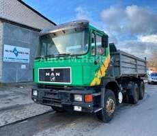 tipper truck MAN 26.372 K 6x4 Meiller 3 Steiten-Kipper Spring