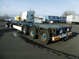 swap body trailer semi trailer Krone 2 x SD 45 fut 2 x Ausziehbar Lift 2008