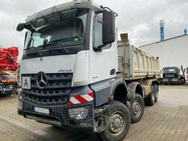 tipper truck Mercedes Benz AROCS 4148 8x8 EURO6 DSK Mit Bordmatik TOP!