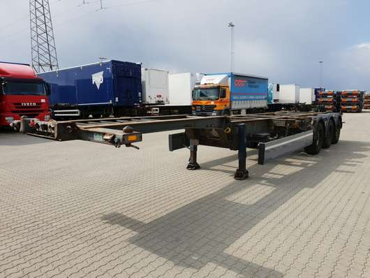 container chassis semi trailer Schmitz Cargobull Multichassis 20-30-40 2007