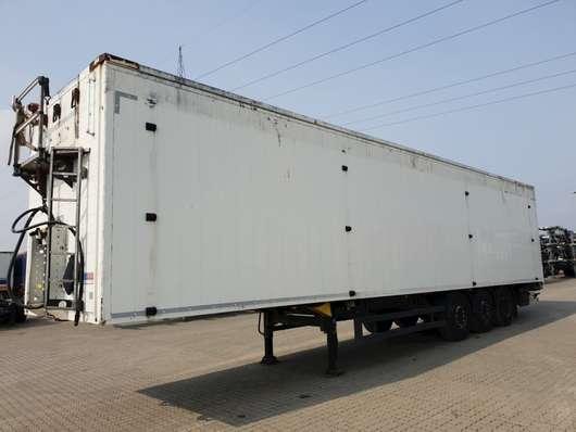 walking floor semi trailer Schmitz Cargobull 93 M3 2014
