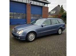 estate car Mercedes Benz E 220 CDI automaat Combi Elegance 2003