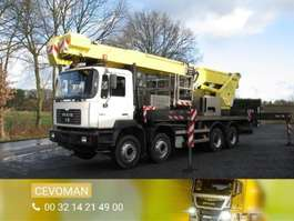 mounted boom lift truck MAN 41.364 8x4 2000