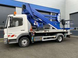 mounted boom lift truck GSR E290PX 2007