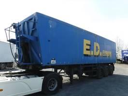 tipper semi trailer Benalu ova 50m3 2001