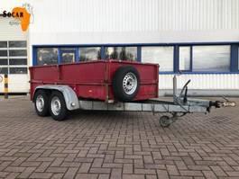 drop side car trailer Heinemann Tendemasser aanhanger 2000