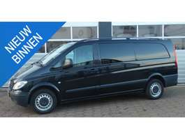 closed lcv Mercedes Benz Vito 115 CDI 343 DC luxe AIRCO/ DUBBEL CABINE/ UITERST NETJES 2009