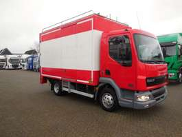 closed box lcv < 7.5 t DAF LF 45 130 98000 KM 2002