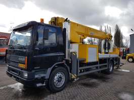 mounted boom lift truck DAF AE65NC 1995