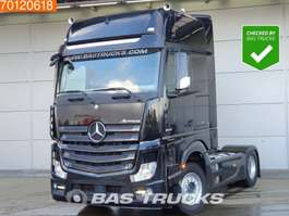cab over engine Mercedes Benz Actros 1845 LS  4X2 Retarder 2x Tanks GigaSpace Euro 6 2015