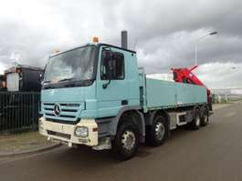 platform truck Mercedes Benz ACTROS 3241 8 X 4 !! STEEL !! 2010