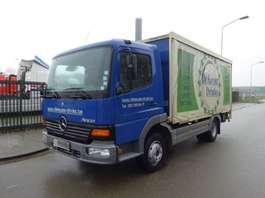 sliding curtain truck Mercedes Benz ATEGO 1017 !! LOW KM !! 2002