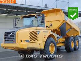 articulated dump truck Volvo A25D Transmission overhauled - tailgate - hecklape 2007