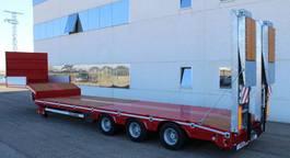 lowloader semi trailer Rojo Trailer Machine-carrier Low-loader 3 axles 2020