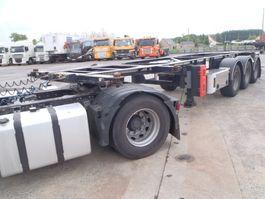 container chassis semi trailer Van Hool 20' 30 ' voet adr 2014