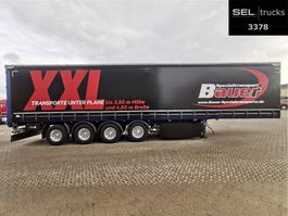 sliding curtain semi trailer Meusburger MPS-4 /WIE NEU/verbr. bis 3,5m Breite /Lenkachse