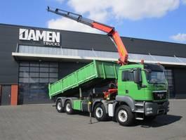 tipper truck > 7.5 t MAN TGS 41.440 8x4 Euro 5 2012