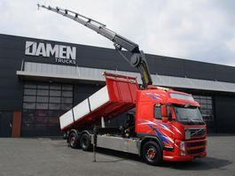 tipper truck > 7.5 t Volvo FM 450 6x2 Euro 5 2013