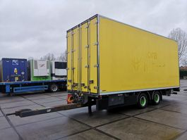 closed box trailer Draco MZS 218 | Flower transport 2006