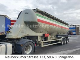 sliding curtain semi trailer Feldbinder EUT 54.3 3 Kammer ADR Silo