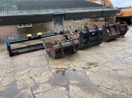 wheeled excavator aanbouwdelen Set kraanbakken
