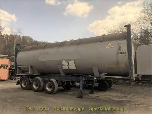 Tankauflieger Auflieger Gofa Tank Container 42300 l Containerauflieger 30ft 2007