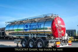 tank semi trailer semi trailer Kaessbohrer ADR L4BH, 1-Kammer 30 m³, Mieten? 2018