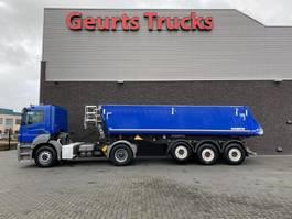 tipper semi trailer Schmitz Cargobull KIPPER/TIPPER TRAILER + MERCEDES-BENZ AXOR 1840 4X2 2014