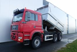 samochód wywrotka > 7.5 t MAN TGA28.480 6X4 MANUAL RETARDER FULL STEEL HUB REDUCTION EURO 3 2004