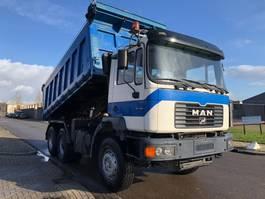 tipper truck > 7.5 t MAN 33-414. 6 x 4 2002