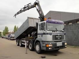 camion della gru MAN 41-410 8 x 4 2001