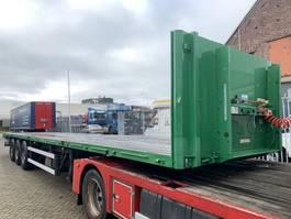 flatbed semi trailer Groenewegen DRO-14-27 APK/TUV tot 01-2022 2007