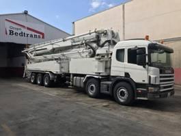 concrete pump truck Scania 124L 420HP JUN-JIN M-55.17 2005