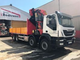 camion piattaforma Iveco TRAKKER 450 PALFINGER 78002 SH + JIB PJ-170-E 2017 2017